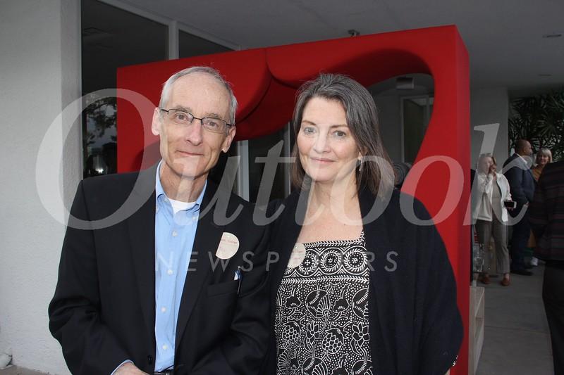Joe Futtner and Laura Cooper