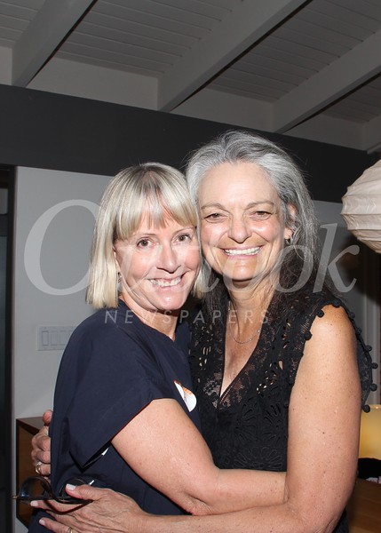 Event co-chairs Karen Hillenburg and Susan Crawford