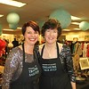 PAA Treasure Sale co-chairs Mia Dean and Barbara Davis