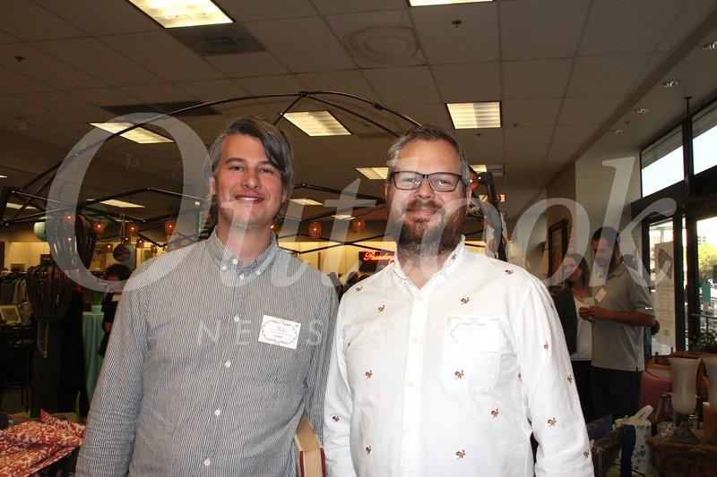Mike Roberts and Kris Good