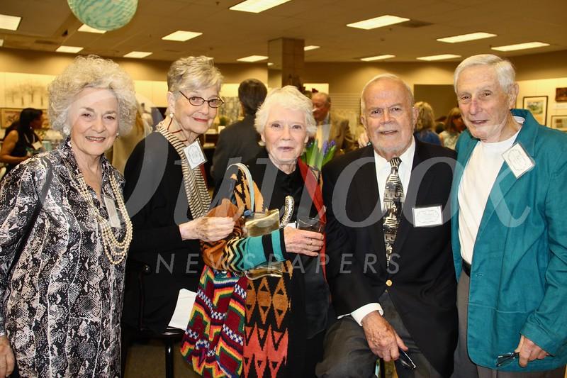 Elinor Turner, Diane Cornwell, Marsha Bohr, Michael Cromwell and Rubin Turner
