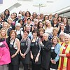 PAA Treasure Sale committee members include: Jeannie Vaughn (front row, from left), Sarah Culhane, Patsy Pinney, co-Chairs Mia Dean and Barbara Davis, PAA President Bea Trujillo, Robin Banks and Judy Whiting. Second row: Clare Tayback, Andrea Nagata, Julie Ward, Phebe Sievers, Lauren Frankel, Linda Brownridge and Sonia Singla. Third row: Kris Pilon, Julie Clayton, Chandra King, Denise Mathews, Leslie Prussia, Carolyn Morton, Kirsten Molz and Annaly Bennett. Fourth row: Alfrida King, Erin McDonald, Phoebe Wilson, Gina Knox, Shari Boyer, Janice Bea, Mary Urquhart, Katie High. Fifth row: Annie Brose, Patricia Ketchum, Raleigh Young, Bette Cooper, Gwen Robertson, Susan Crawford, Tamara Tolkin, Elizabeth Berry, Else Behney and Rita Flynn. Many of the 86 committee members were working at the event site and missed the photo call.