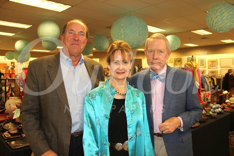 Fred Schwarzenbach, Joan Aarestad and Olin Barrett