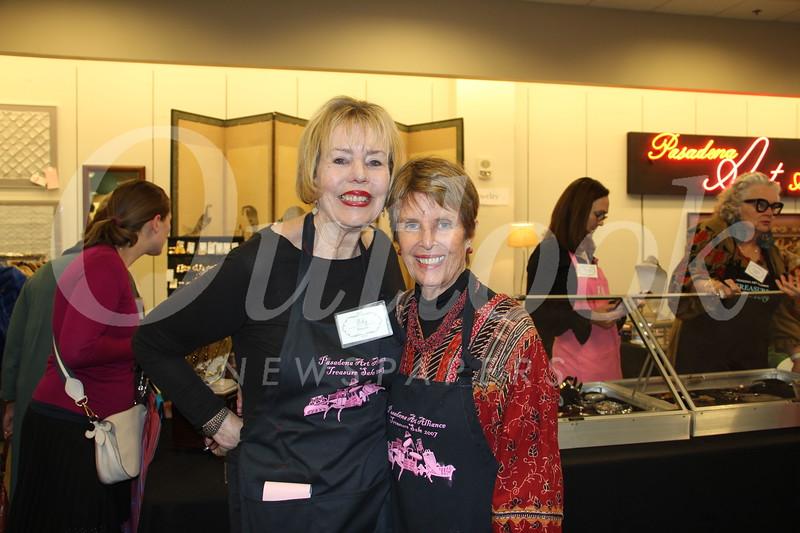 Polly Wheaton and Phebe Sievers