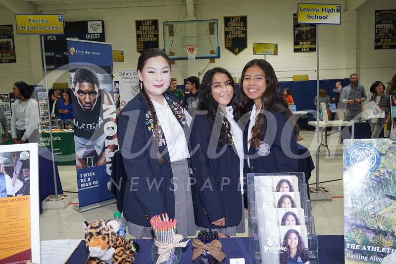 Alverno: Katherine Fong, Tarra Rodriguez and Sarah Delgadillo