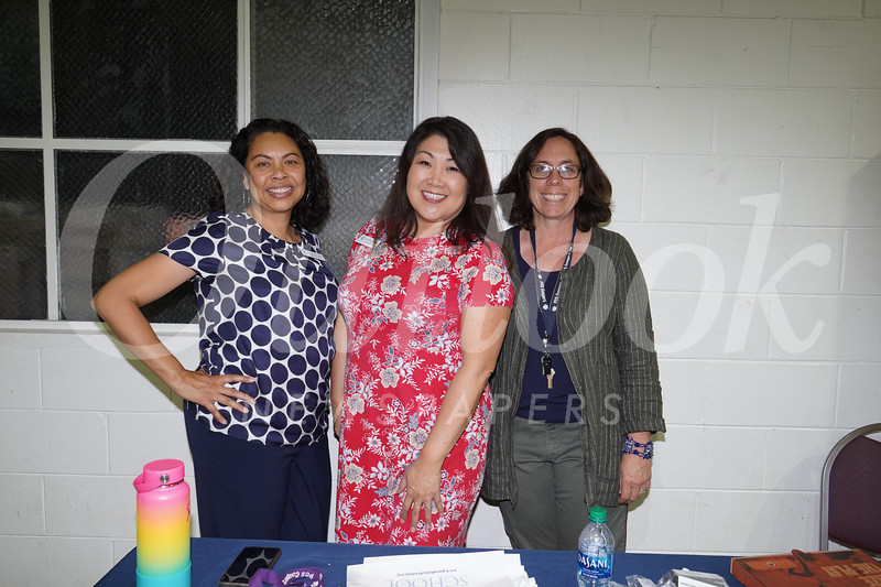 Pasadena Christian School: Monica Smith, Betty St. Peter and Lisa Blanc