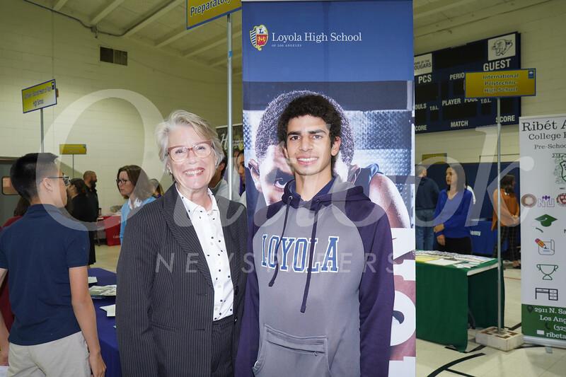 Loyola: Ann Holmquist and Mark Challita