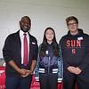 Southwestern Academy: Paolo Woodard, Lily Zhu and Oscar Trujillo