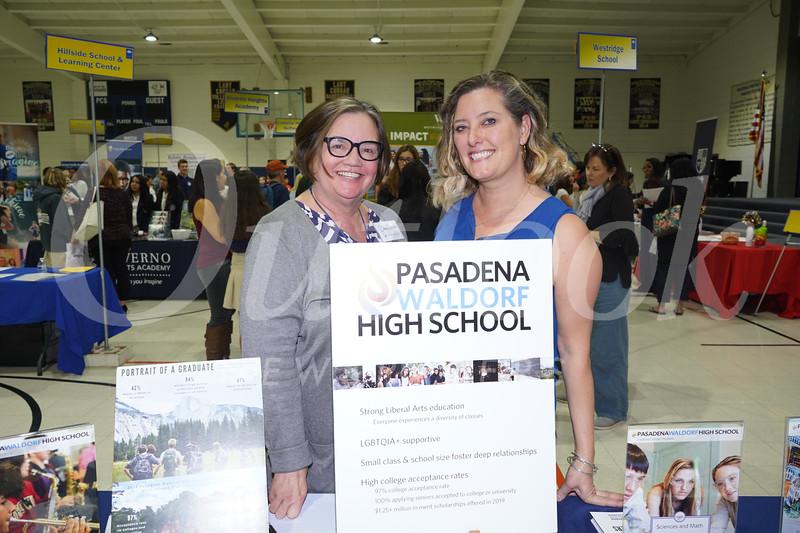 Pasadena Waldorf High School: Diane LaSalle and Leslie Stevens
