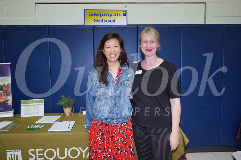 Sequoyah: Patricia Han and Carolyn Stirling