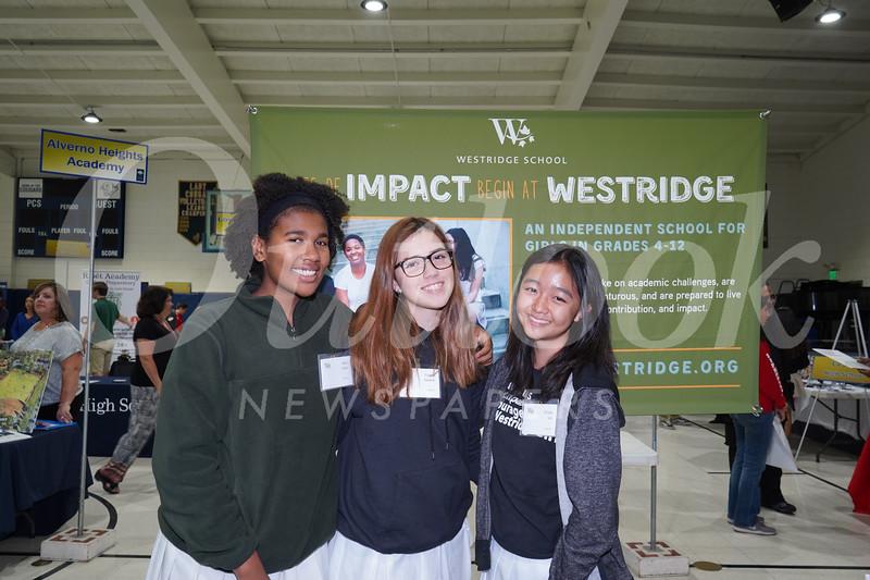 Westridge: Ileia Gibbs, Grace Nakane and Olivia Lee