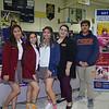Cantwell Sacred Heart of Mary: Mariana Vazquez, Brianna Lopez, Annabel Lazo, Ariel Pintado and Francisco Luna