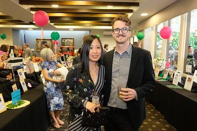 Cynthia Wang and Brendan Canning