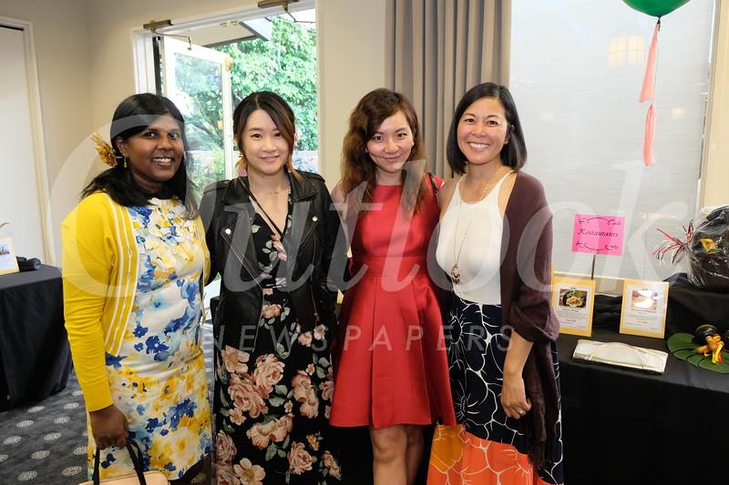 Punita Jeyakaran, Tiffa Lu, Annie Wang-Lee and Kathy Jervey