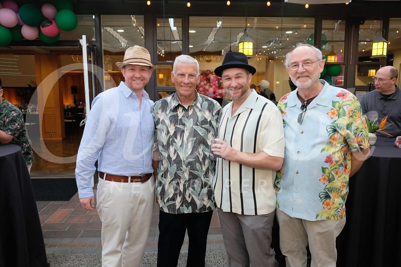 Bryan Scheidler, Larry Bennett, and Steve and David Scheidler