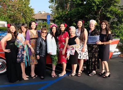 The gala committee's Michelle Garcia, Eva Rodriguez, Alisa Chanpong Amateau, Evelyn Glassford, Jaclyn Harris, Antoinette Andrews, Maryanne Bennett, Donna Glassford, Kathy Prosser and Lani Martinez