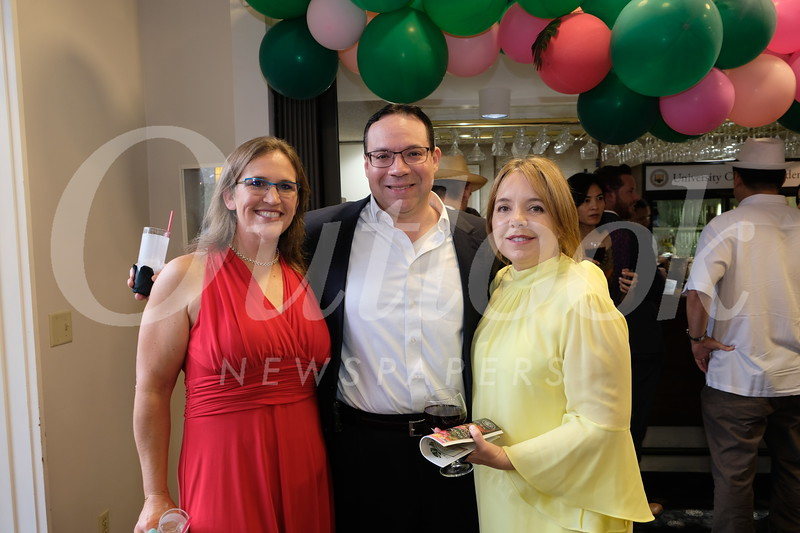 Kristen and Manuel Perez with Michelle Blaya