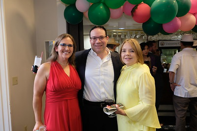 Kristen and Manuel Perez with Michelle Blaya