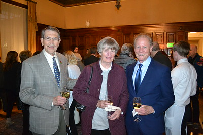 Bill and Claire Bogaard with Lonnie Schield