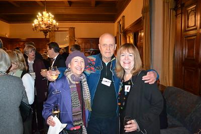 Bianca Richards, Ron Koertge and Vicki Laidig