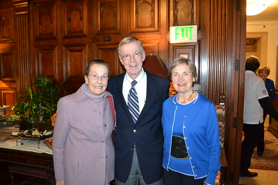Juliette Quinn with George and Marilyn Brumder