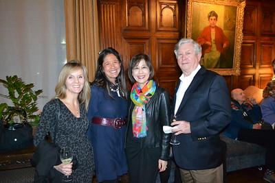Lisa Vandergriff, Grace Mellis, Lauren Chang and Peter Brockett
