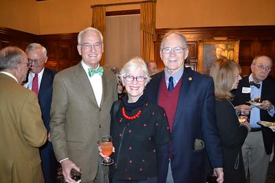 John Quinn with Joan and Jeffrey Palmer