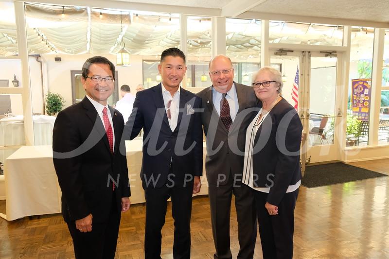 Rich Chinen, Gilbert Tong, and Les and Pam Stocker