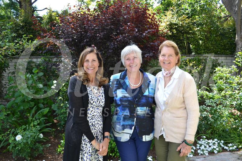 Vicki McLoon, Rachel Ault and Marcia Schoettle