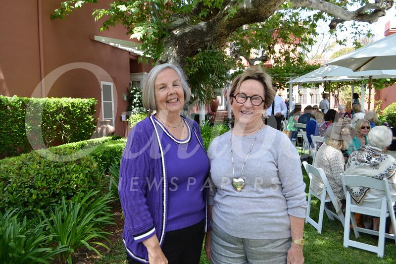 Kathy Ferguson and Jane Herrmann