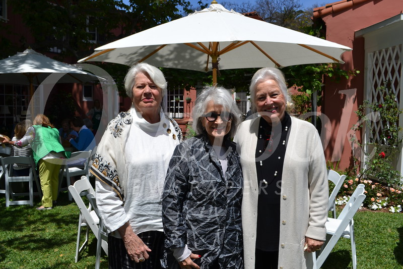 Tina Mitchell, Lisa Battaglia and Joyce Leddy