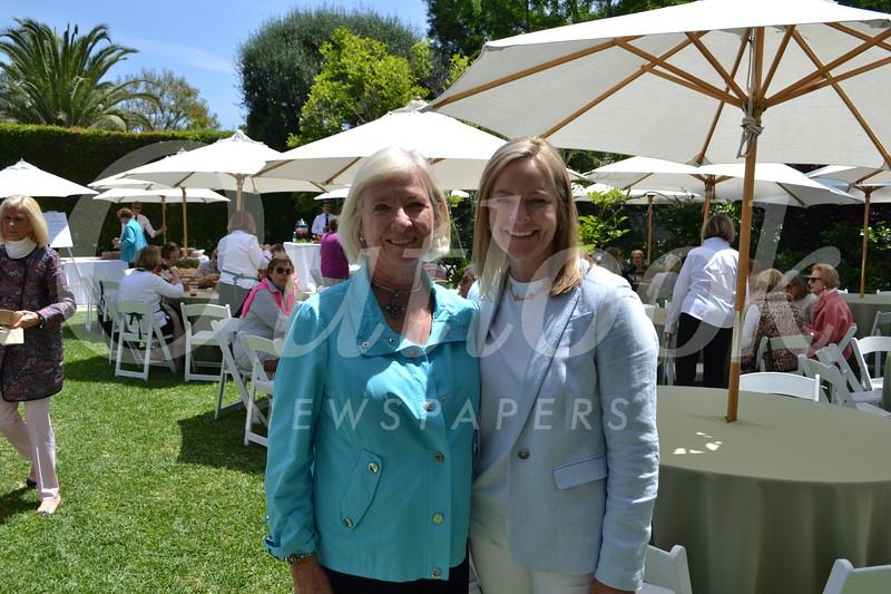Margot Milias and Anne Ryan