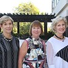 Treasures and Trivia co-chairs Jinny Dalbeck, Marlene Evans and Millie Steinbrecher