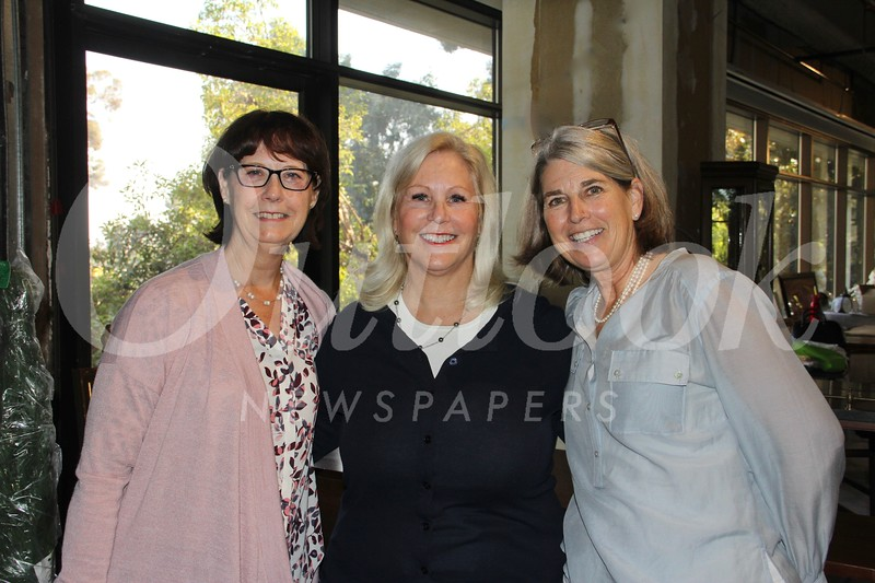 Barbara Miller, Tory Howe and Ann Bouton