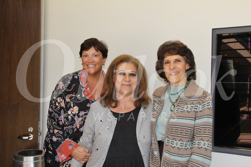 Karen Beardsley, Janice Conzonire and Valerie Weiss