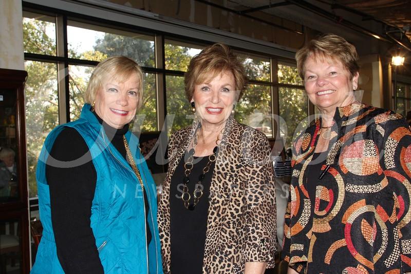 Barbara Baptie, Becky Garnett and Barbara Miller