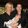 Cindy Jenkins with granddaughter Juliette and Guild President Sarah Shelton