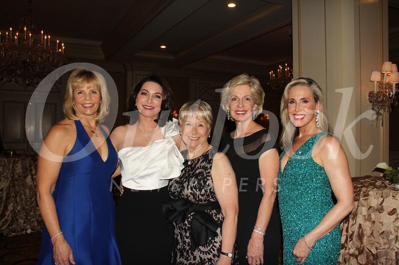 Cindy Jenkins, Sarah Shelton, Ann McGilvray, Millie Steinbrecher and Sarah Miller