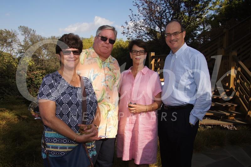13 Barbara and Todd Brewer with Margaret and John Willams, Board Member
