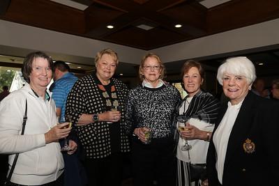 Julie Gallant, Karen Mandeville, Nancy Plamann, Susie Bishop and Carol Chess