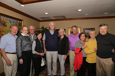 Al and Nancy Plamann, John and Nancy Cabot, Rob and Nancy Asher, Bob and Lexi Phillips, and Vicki and Gary Olson