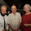 Karen Stracka, Dr. Larry Jones and Diana Denoyelles