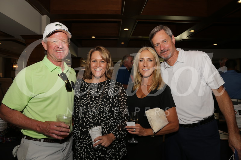 Vice chair Pete Siberell, Jennifer Wieland, and Michele and Doug Colliau