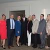 Hank Hodges, Susan Crosby, Eddie Arnett, Alicia Vessey, Honoree Tim Tucker, Karen and Steve Sherman, Sammy Skinner, and Kay and John Rouse