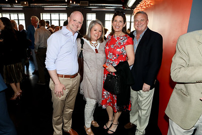 Leo and Stephanie Dencik with Beth and Rob Hansen