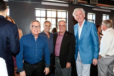 Dennis Cornell, Brad King, Mayor Terry Tornek and Bill Carroll