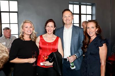 Kristy Narens, Erin and Jeremy Baker, and Karen Modanlou