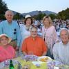 Susana Shepherd (seated, from left), Jim Steinwedell and Hank Yost. Back: Geoffrey Shepherd, Barbara Steinwedell and Margie Yost.