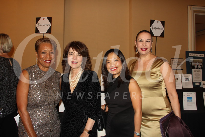 Harriet Boyd, Debbie Manners, Wendy Wang and Gina Perez