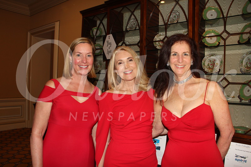 Amy Smith, Julie Giulioni and Susan Seaman